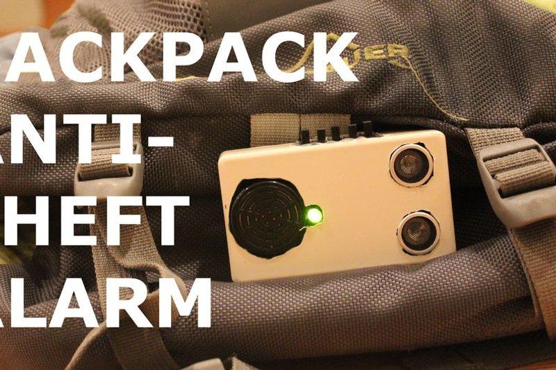 antialarma - Antirrobo para mochila con Arduino