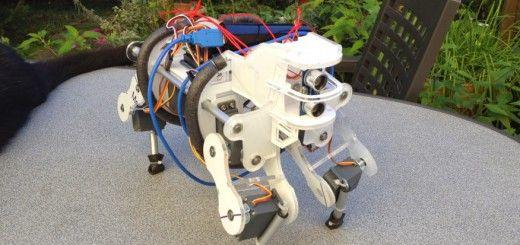 beber 520x245 - Un bebe robot cuadrupedo