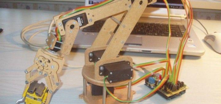 robot arm 720x340 - Hazte tu propio brazo robot en casa