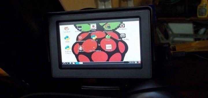 raspcar 720x340 - Un ordenador de a bordo con Raspberry Pi