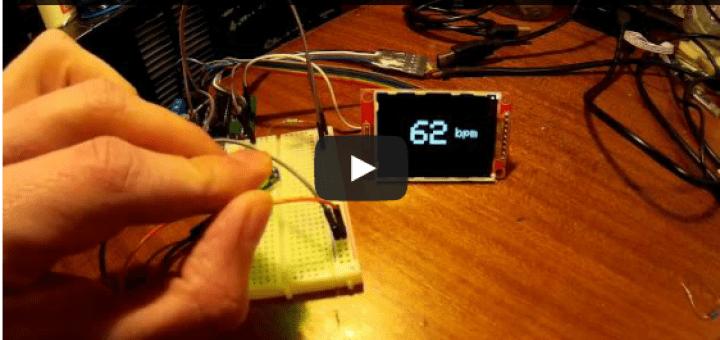 Un sensor de pulsaciones cardiacas con arduino