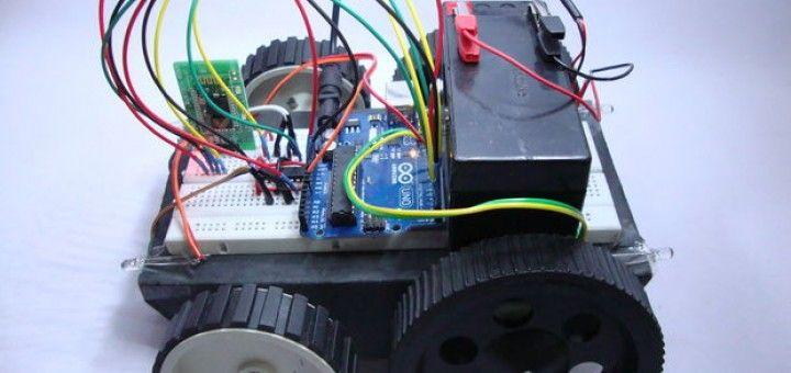 Un robot dirigido con un PC