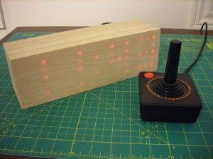 relojamadera2 300x225 - Un bonito reloj de madera con #arduino
