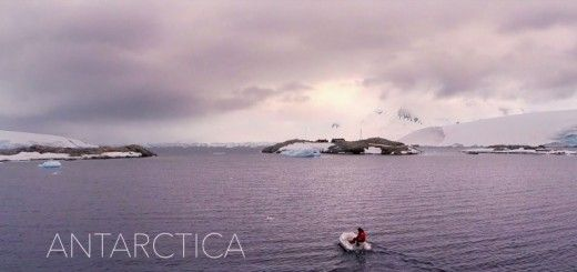 antartica 520x245 - Antartica, la Antártida a vista de drone, impresionante video