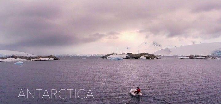 antartica 720x340 - Antartica, la Antártida a vista de drone, impresionante video