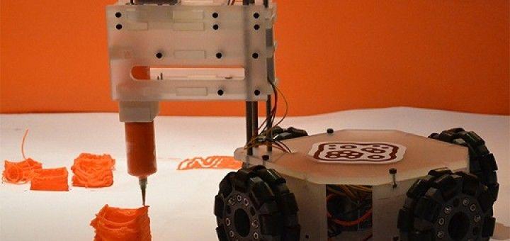 bot06 720x340 - 3&Dbot, el robot que imprime cualquier cosa en cualquier lugar