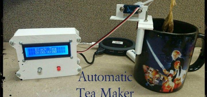 teamaker 720x340 - Arduino te ayuda a preparar el té de las cinco