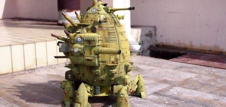 HMC Boudicca, un tanque robot como nunca habías visto antes