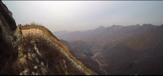 Vídeo del día: La Gran Muralla China a vista de dron