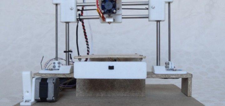 Arduino te ayuda a crear una impresora 3D barata y totalmente funcional