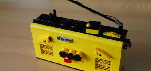 lego radio 520x245 - Construye una LEGO radio con Littlebits