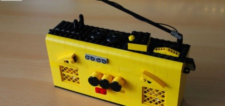 lego radio 720x340 - Construye una LEGO radio con Littlebits