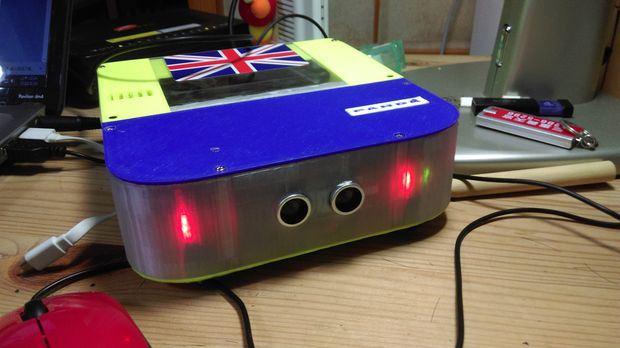 Un robot de limpieza creado con arduino e impreso en d