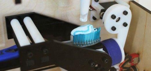 arduino pasta dientes 520x245 - Ponle pasta a tu cepillo de dientes con Arduino e Intel Edison