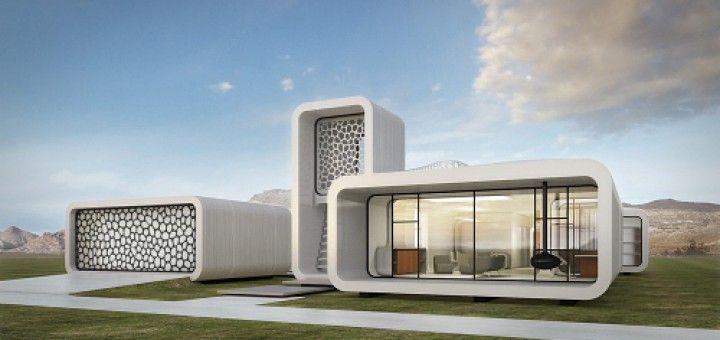 oficina impresa3D 720x340 - El primer edificio de oficinas impreso en 3D se construirá en Dubai