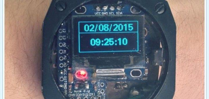 arduino smartwatch 720x340 - Smartwatch Arduino con altímetro, podómetro, brújula y temperatura
