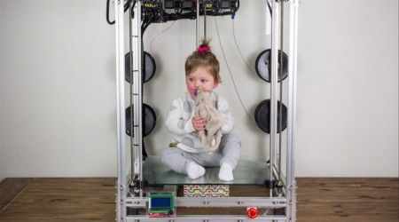 the beast 3d printer 450x250 - The Beast, la gran impresora 3D para tus grandes ideas.