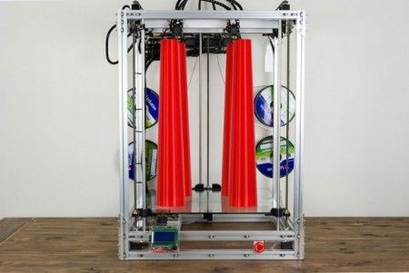the beast 3d printer2 450x301 - The Beast, la gran impresora 3D para tus grandes ideas.