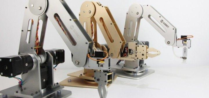 arduino robot 720x340 - Dobot, un brazo robótico controlado con Arduino