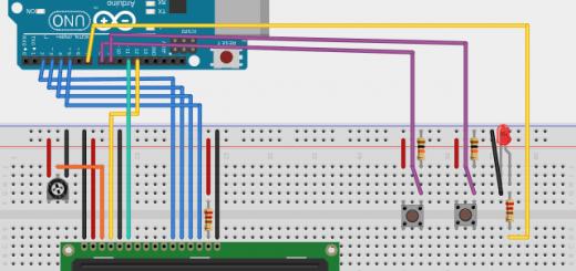 LCD buttons bb 520x245 - Tutorial Arduino: Pantalla LCD con texto deslizante mediante pulsadores