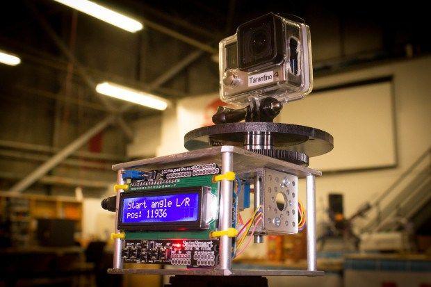 Construye un control de movimiento para hacer time lapse