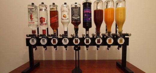 arduino bartender 520x245 - Alkobot, un barman automatizado con Arduino