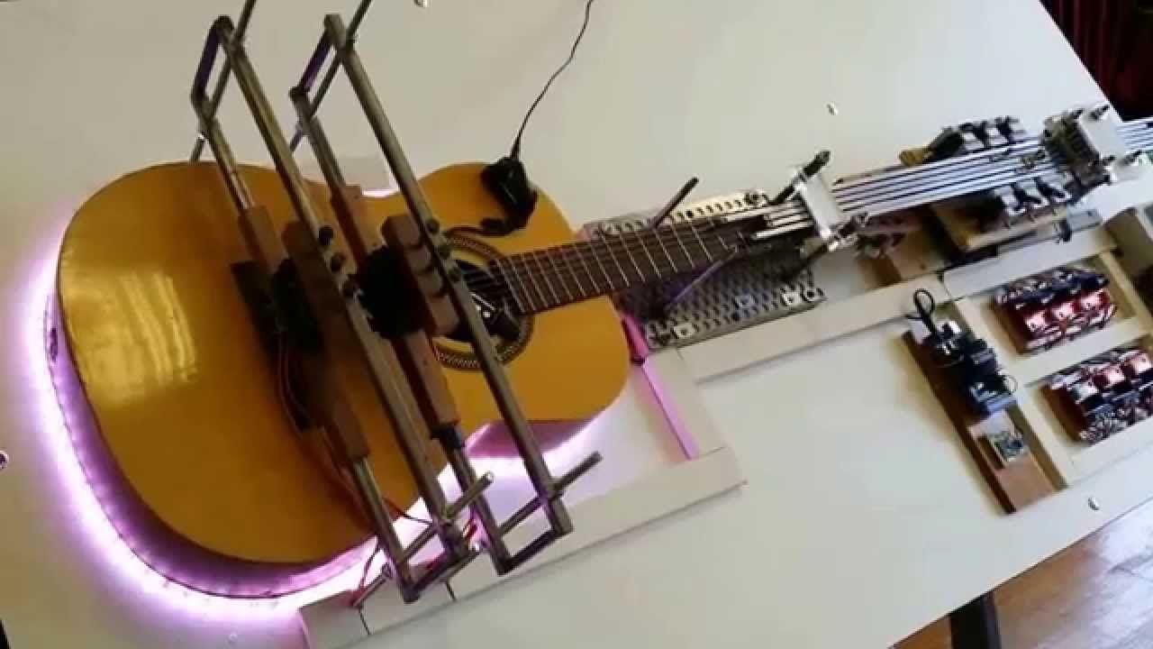 Arduino también toca la guitarra