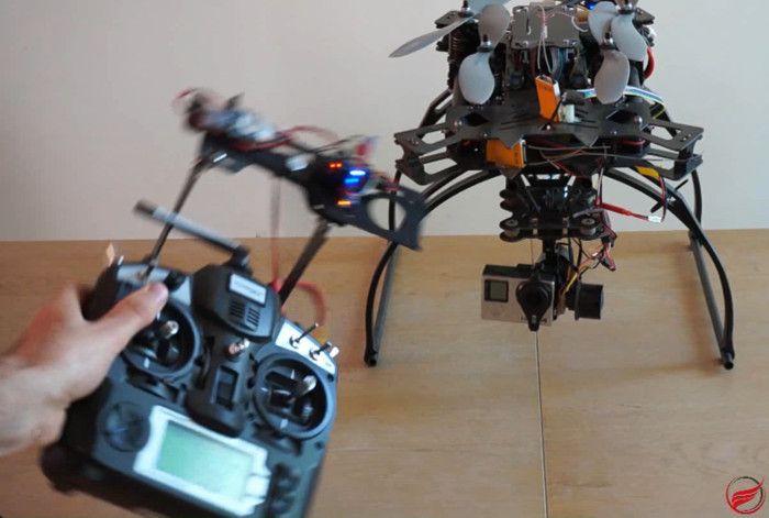 Controla el vuelo y la cámara de tu dron mediante gestos