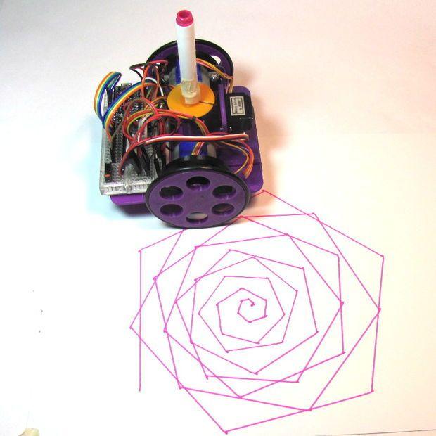 Monta tu propio robot artista y aprende robótica