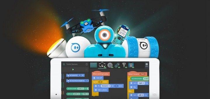 tickle 720x340 - Tickle, programa fácilmente tus drones, juguetes inteligentes o Arduino