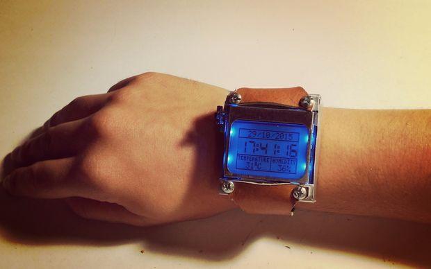 Arduino watch sport crea tu propio reloj de muñeca