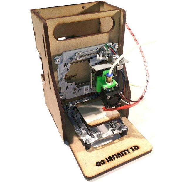 Arduino te ayuda a construir esta impresora d por menos