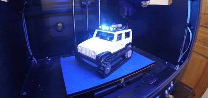 jeep arduino2 720x340 - Arduino controla este jeep de control remoto impreso en 3D
