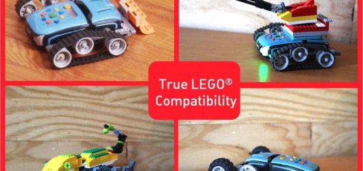 phiro4 720x340 - Phiro, un robot compatible con LEGO para niños