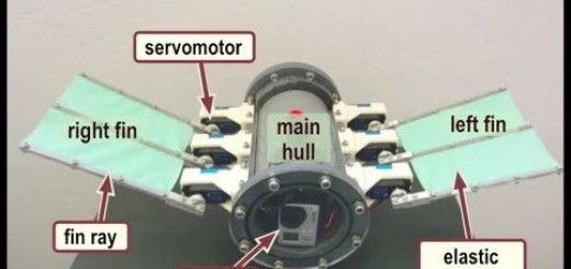 robot submarino 520x245 - Robot submarino impulsado por Arduino