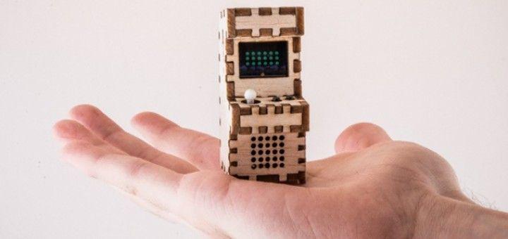 tinyarcades 720x340 - Tiny Arcade, las máquinas de videojuegos más pequeñas