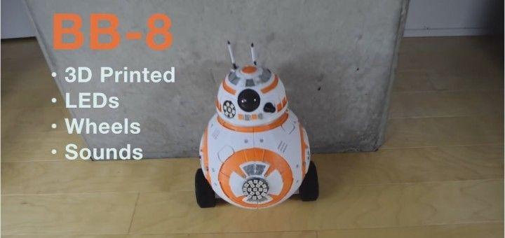 bb 8 720x340 - Un Maker se fabrica su propio robot BB-8 de Star Wars