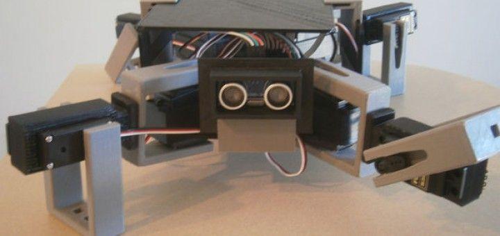 cuardupedo arduino 720x340 - Construye este simpático robot con Arduino