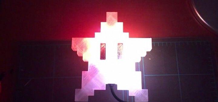 estrella navidad arduino 720x340 - Una estrella a lo Super Mario para tu Árbol de Navidad