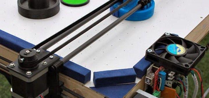hockey arduino 720x340 - Juega al Air Hockey contra este robot controlado por Arduino