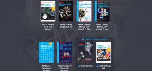 humblemaker 520x245 - Paga lo que quieras por esta colección de libros de Arduino y de Raspberry Pi