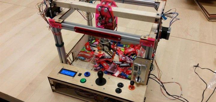 maquinita arduino 720x340 - Construye y pasa un rato divertido con esta máquina de feria