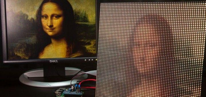 raspberry pi pantalla 720x340 - Tutorial Raspberry Pi: monta una pantalla de LEDs para tu Raspberry