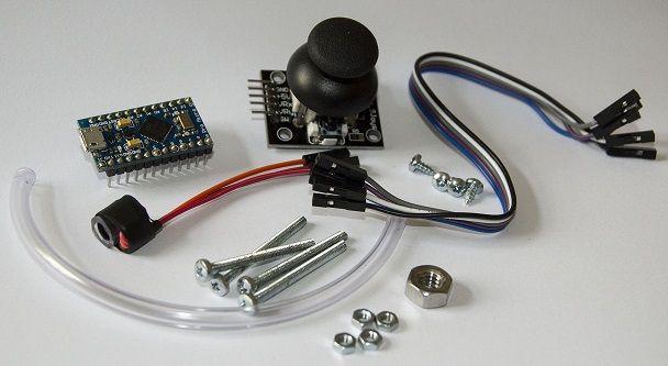 raton arduino2 - Arduino controla este ratón que se maneja con la boca