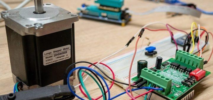 Motor paso a paso interfaz con Arduino