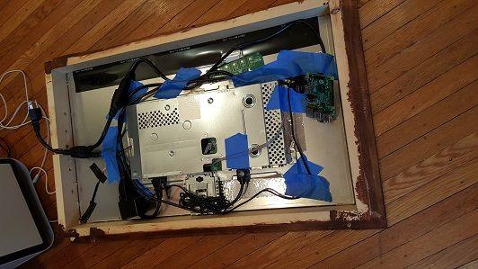 espejo raspberry pi3 1 - Construye un moderno espejo informativo con una Raspberry Pi