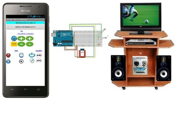 Controla tu dvd tv y equipo de sonido con arduino