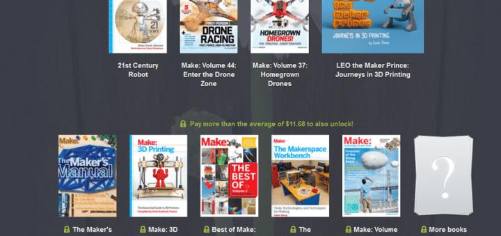 humble 720x340 - Aprende de impresión 3D, drones y del mundo maker por poco dinero