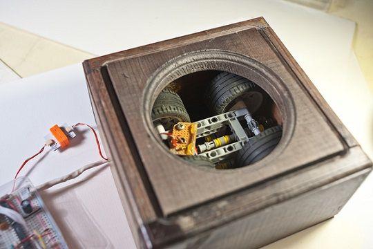 mundo arduino2 - Un reloj mundial muy original con Arduino