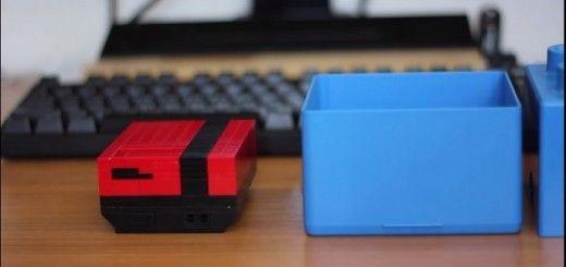 nintendo pi 520x245 - Construye con LEGO una carcasa para Raspberry Pi a semejanza de una Nintendo NES